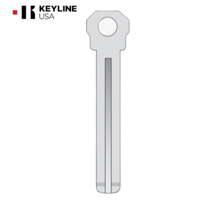 Lexus LXP90 Metal Test Key (KLN-BTR490B)