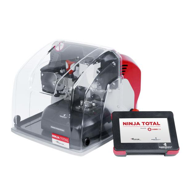 Keyline NINJA TOTAL – All-in-One Automatic Electronic Code Cutting Key Machine