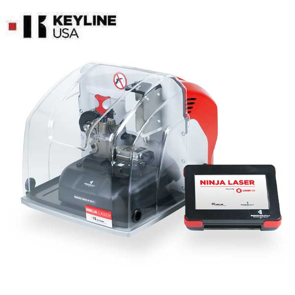 Keyline - NINJA Laser -  Electronic Key Cutting Machine
