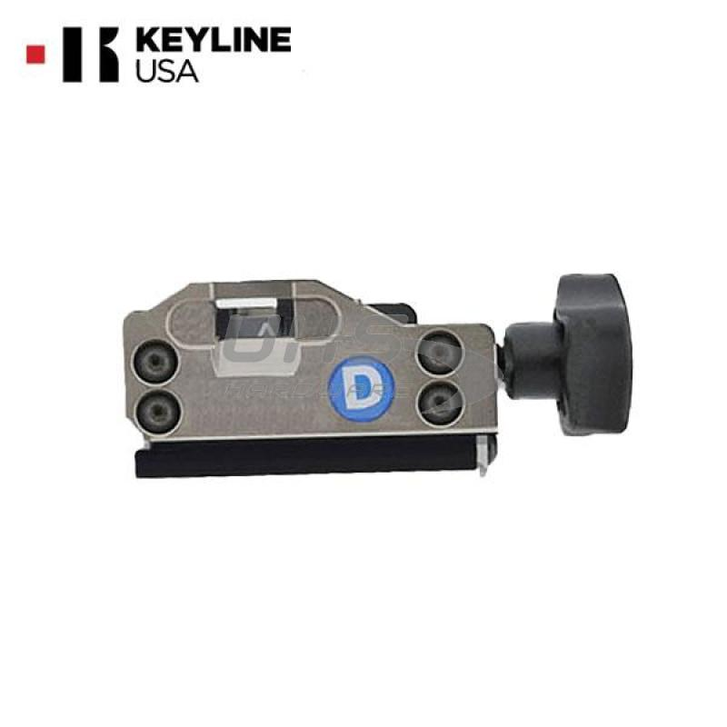 Keyline Ninja Laser – Blue Jaw D / Mercedes 2-Track Clamp / (OPZ09783B)