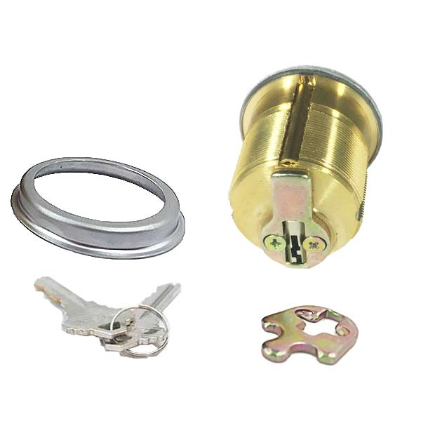 "Premium Mortise Cylinder - 1-1/4"" - 26D - Satin Chrome - (SC1 / KW1)"