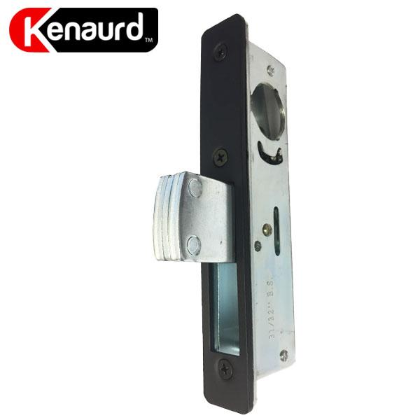 "3 x Narrow-Stile 1-1/8"" DeadBolt Lock Body -  w Faceplates (Bundle of 3)"
