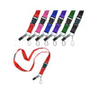 LuckyLine - 64101 - Flat Lanyard - Assorted - 1 Pack