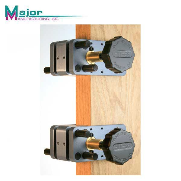 "Major Mfg - HIT-66 - Door Drilling Clamp System - 1-1/4"" to 2-7/8"""
