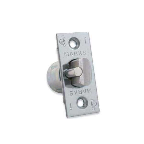 "Marks USA -1138A Cylindrical Dead Latch For Marks 175 Series Entry Leversets - 2 3/8"" - Satin Chrome"