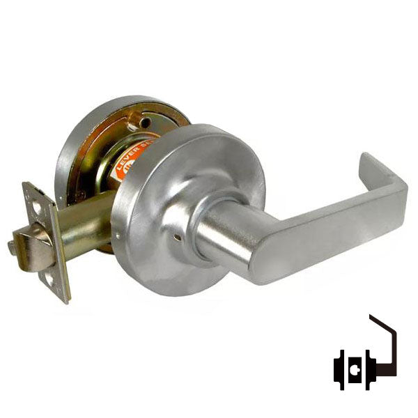 "Marks USA -195NB - Commercial Lever -  2 3/4"" Backset - 26D - Communicating Passage - Grade 1"
