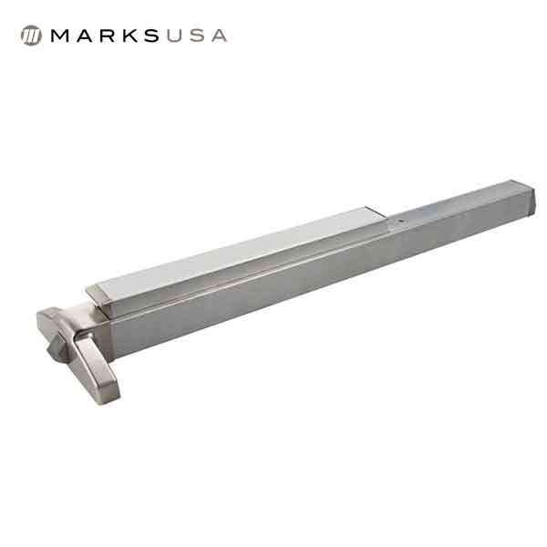 "Marks USA - M8800 - Narrow Stile Exit Device - 32D Satin Stainless - 36"" - Grade 1"