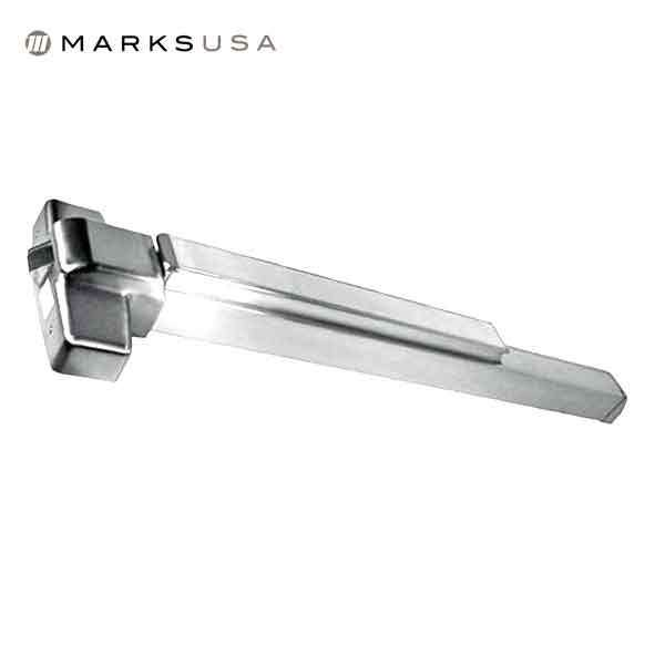 "Marks USA - M9900 - Rim Panic Exit Device - 32D Satin Stainless - 48"" - Grade 1"
