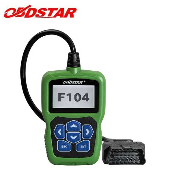 OBDStar - F104 - Chrysler Dodge Jeep Key Programmer - Supports Odometer & Pin Code Reading