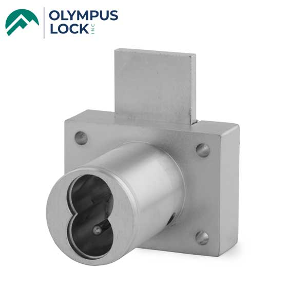 Olympus - 721DW - IC Core Deadbolt Cabinet Drawer Lock - BEST SFIC - 26D - Satin Chrome - Grade 1