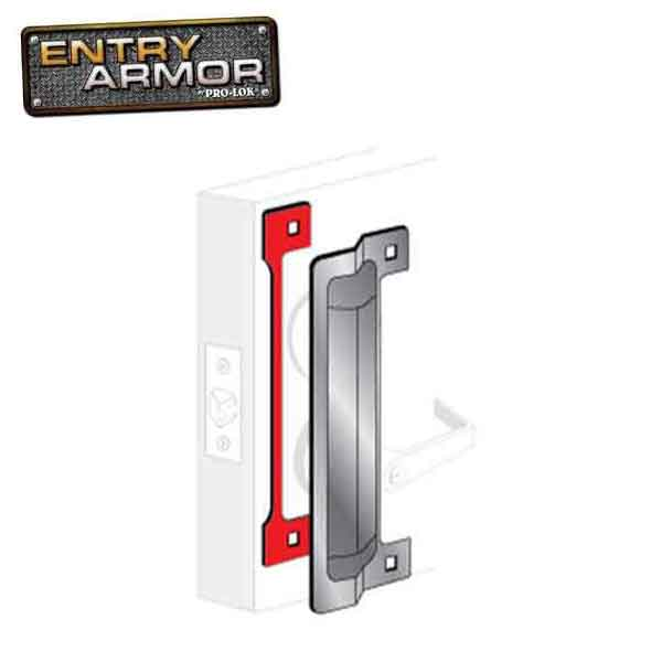 Entry Armor - Latch Protector 13""