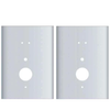 Entry Armor - Cylindrical Flat Plates for Kaba E-Plex 2000 Series - Set Of 2
