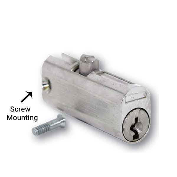 "HPC - File Cabinet Lock w/ Screw Mount (1-3/4"") - ( CHICAGO 5001LP-50LP)"