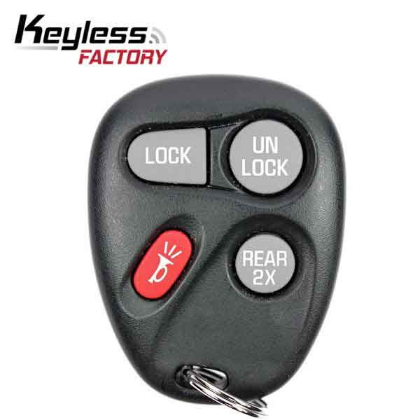 1996-2005 GM / 4-Button Keyless Entry Remote / KOBUT1BT / (R-G-805)