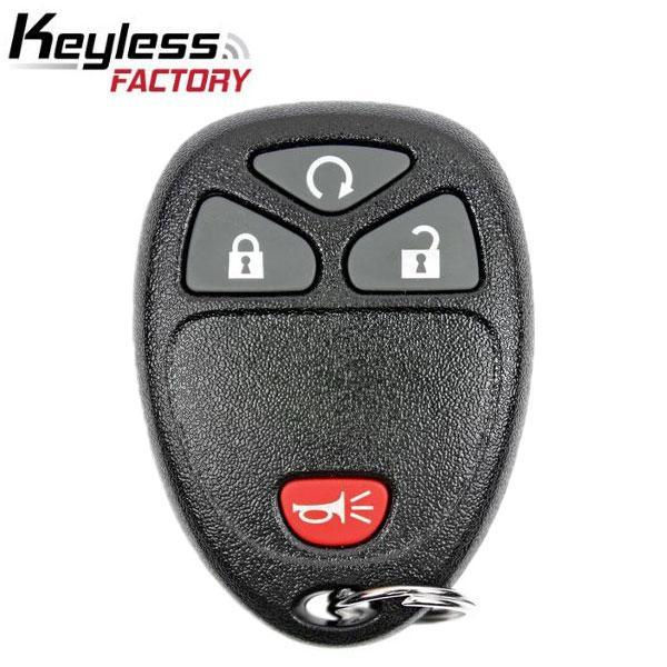 2007-2017 GM / 4-Button Keyless Entry Remote / OUC60270 / (R-GM-402)