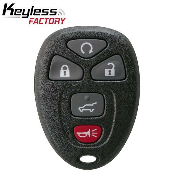 2007-2017 GM  / 5-Button Keyless Entry Remote / OUC60270 / (R-GM-502)