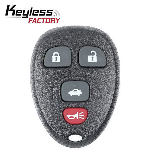 2004-2012 GM  / 4-Button Keyless Entry Remote / PN: 22733523 / KOBGT04A (R-GM-523)