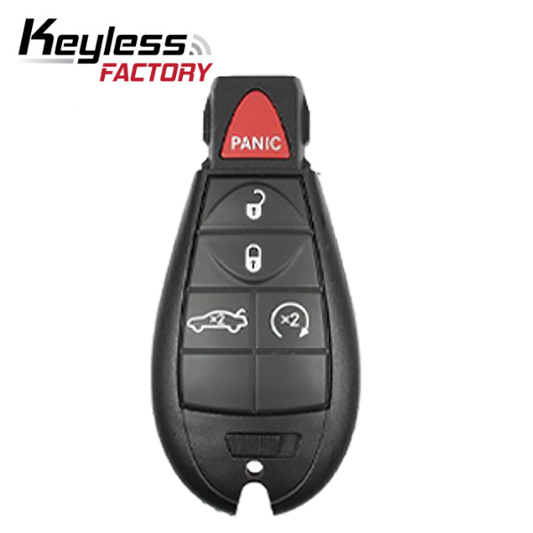 2008-2013 Chrysler Dodge / 5-Button Fobik Key / M3N5WY783X  (RK-CHY-FBK-9)