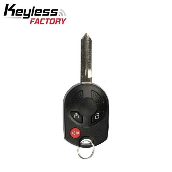 Ford / Lincoln / Mazda / Mercury 2000-2018 / 3-Button Remote Head Key / OUCD6000022 / (RK-F-OUCD-3B)