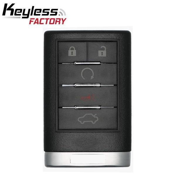 2007 2015 Cadillac 5 Button Keyless Entry Remote