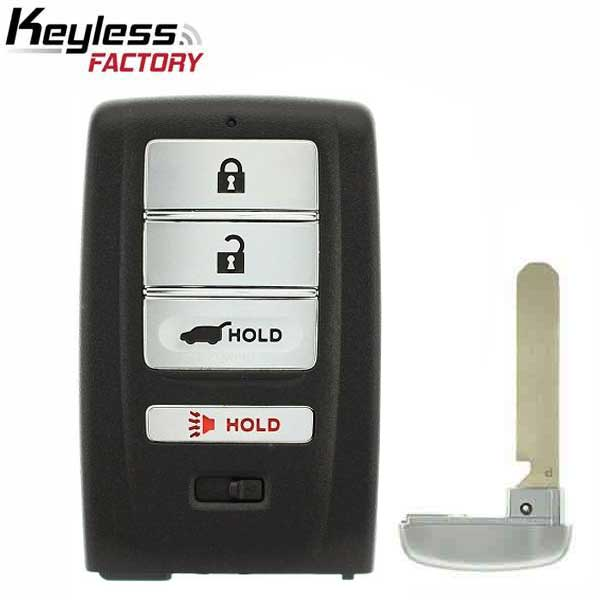 2014-2020 Acura MDX RDX / 4-Button Smart Key / PN: 72147-TZ5-A01 / KR5V1X (RSK-ACU-36)