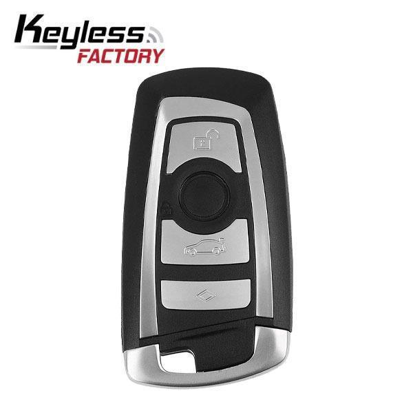 2009-2016 BMW 3 / 5 / 7 Series / 4-Button Smart Key / KR55WK49863 / CAS4 / (315 Mhz) (RK-BM-9863)