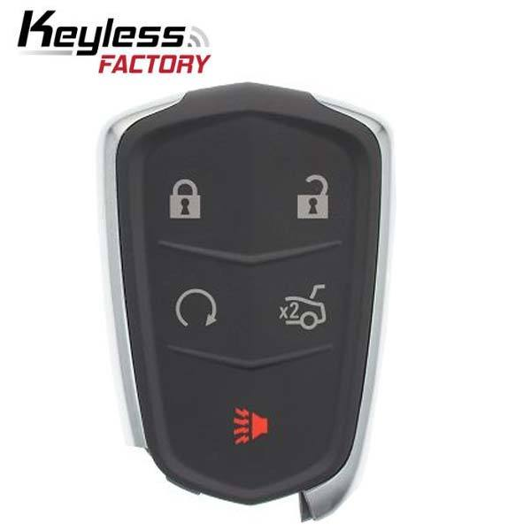 2015-2019 Cadillac XTS ATS CT6 / 5-Button Smart Key / HYQ2EB / 433 Mhz w/ Trunk (RSK-CAD-8538)