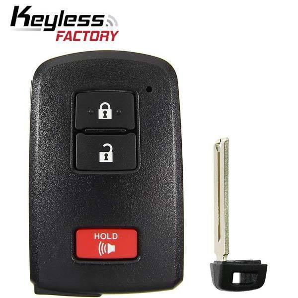 2012-2019 Toyota / 3-Button Smart Key / HYQ14FBA / AG Board 2110 (RSK-TOY-21103)