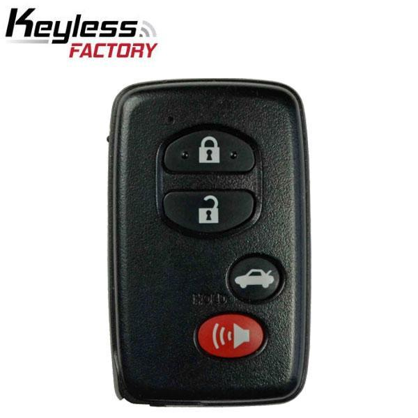 2007-2010 Toyota / 4-Button Smart Key (0140 Board) / HYQ14AAB  (RSK-TOY-0140-4)
