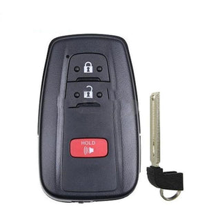 2018-2019 Toyota CH-R / 3-Button Smart Key / MOZBR1ET / 0010 (RSK-TOY-CHR3)