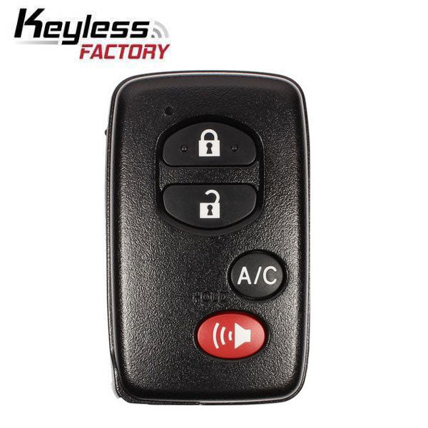 2010-2015 Toyota Prius / 4-Button Smart Key / PN: 89904-47150 / GNE Board 5290 / HYQ14ACX (RSK-TOY-ACAC)
