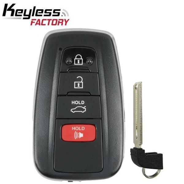 2018-2019 Toyota Camry / 4-Button Smart Key / HYQ14FBC / 0351 (RSK-TOY-CMR19)