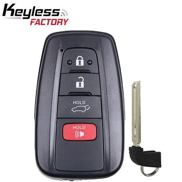 2019 Toyota RAV4 / 4-Button Smart Key / HYQ14FBC / 0351 (RSK-TOY-RAV19)
