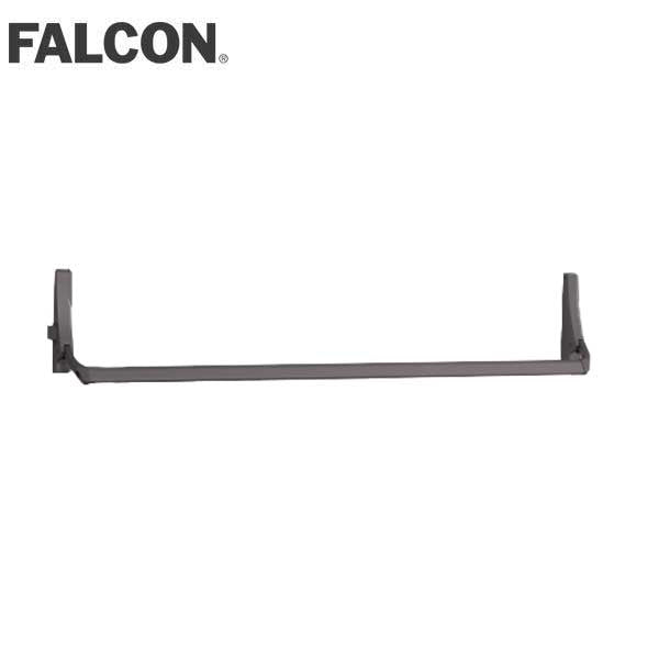 "Falcon - 2092NL OP/HB-OP - Rim Crossbar Exit Device w/  Night Latch Cylinder - 41"" - RHR - Dark Bronze"