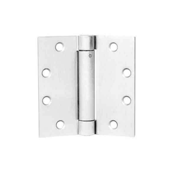 "TownSteel - THSP 179 - Door Hinge - 4.5"" x 4.5""  - Commercial Weight Spring Hinge  - USP - Primed for Paint"