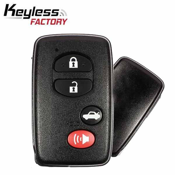 2007-2013 Toyota / 4-Button Smart Key / HYQ14AAB (E Board - 3370) (RSK-TOY-3370-4)