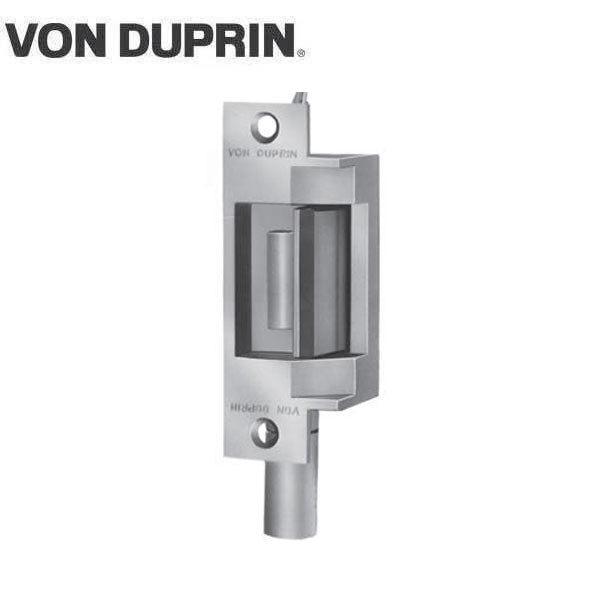 Von Duprin - 6211 Electric Strike for Mortise or Cylindrical Devices - Fail Secure - Dual Signal Switch  - Satin Stainless - 24VDC