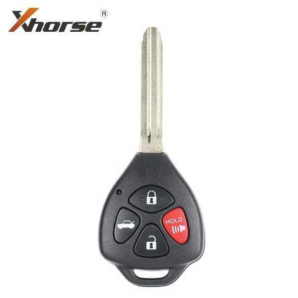 Xhorse - Toyota Style / 4-Button Universal Remote Head Key for VVDI Key Tools (Wired)