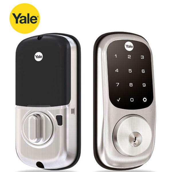 Yale Assure YRD226 Electronic Keypad Deadbolt Lock - w/ Touchscreen - Schlage C - Satin Nickel - w/ Key Override