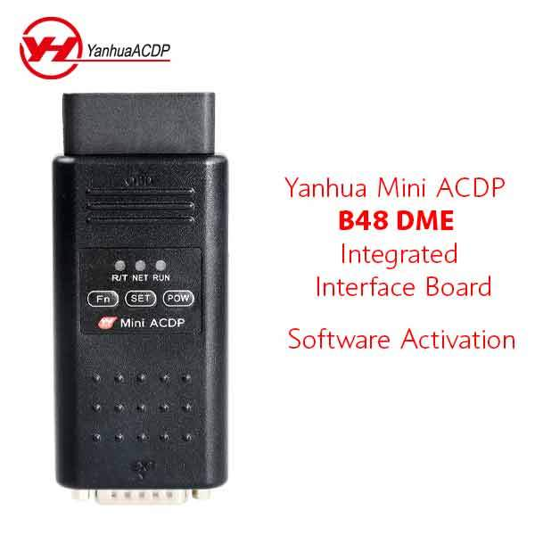 ACDP - Software License for Yanhua Mini ACDP B48 DME Integrated Interface Bench Board