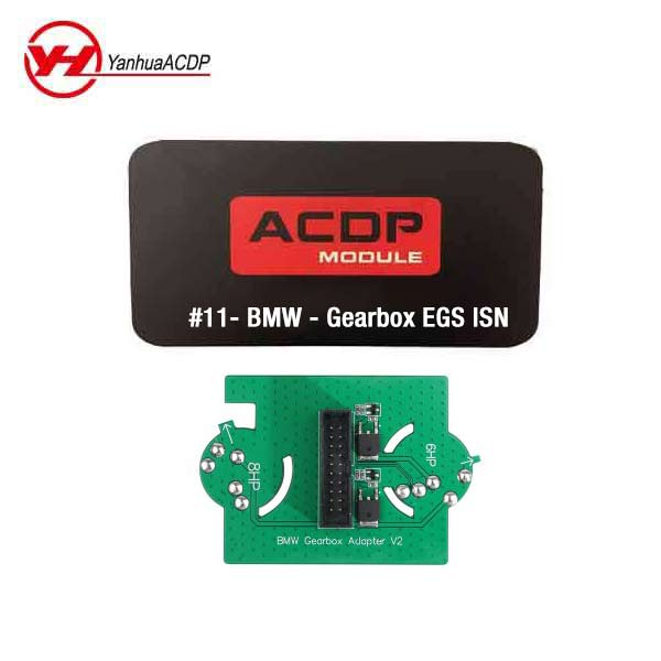 BMW - Module #11 for Mini ACDP - Gearbox EGS ISN Authorization