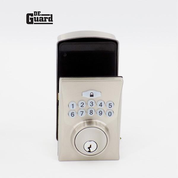 Electronic Keypad Keyed Deadbolt - Grade 3 - Satin Stainless Steel - (SC1/KW1)
