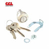 Mailbox Cam Lock Clockwise - New Style - Bright Nickel Finish (US14) (CCL-82013)