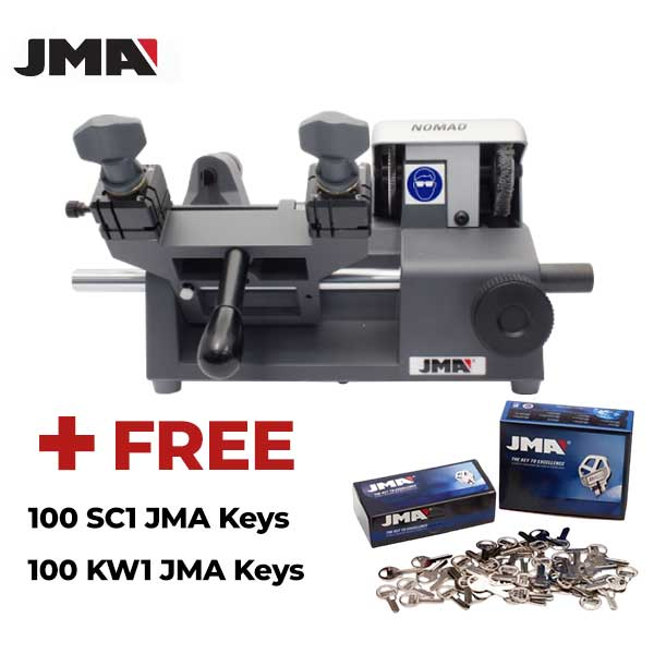 JMA - NOMAD - Portable Key Duplicator Machine + FREE 200 KEYS