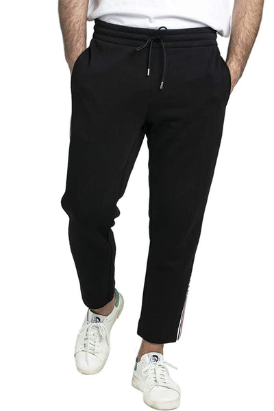 MONCLER BLACK Cotton Sweatpants