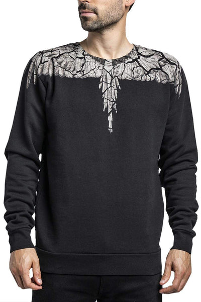 MARCELO BURLON Shoulder-Print Sweater