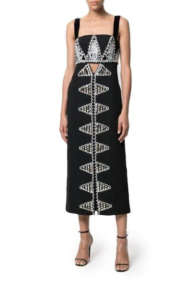 TEMPERLEY EMPIRE EVENING DRESS