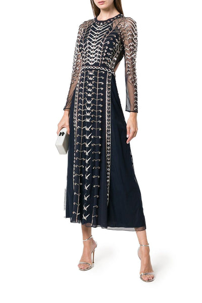 TEMPERLEY WILD LIFE DRESS