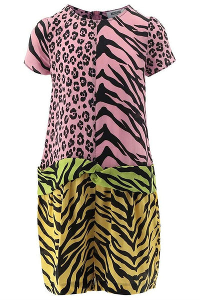 Moschino Animal Print Dress