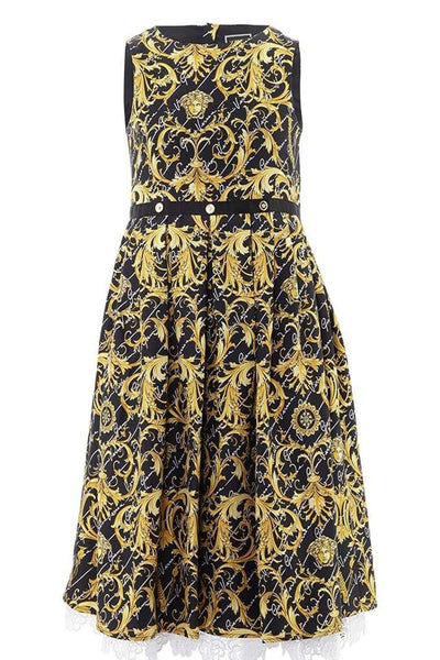 Versace Patterned Cotton Dress